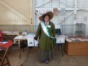 Suffragette at Blists Hill